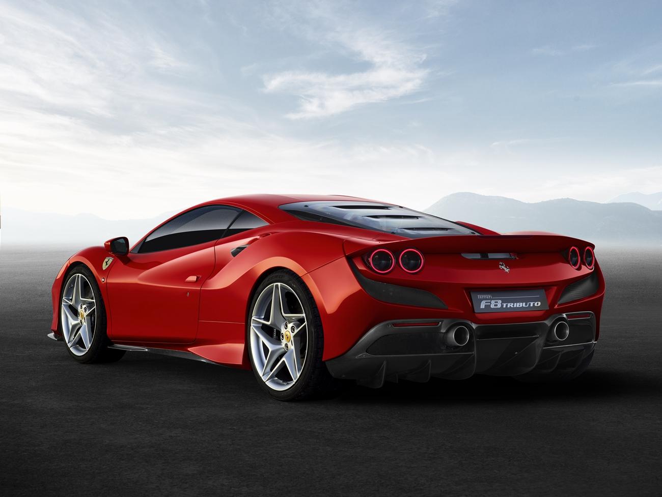 Nuevo Ferrari F8 Tributo