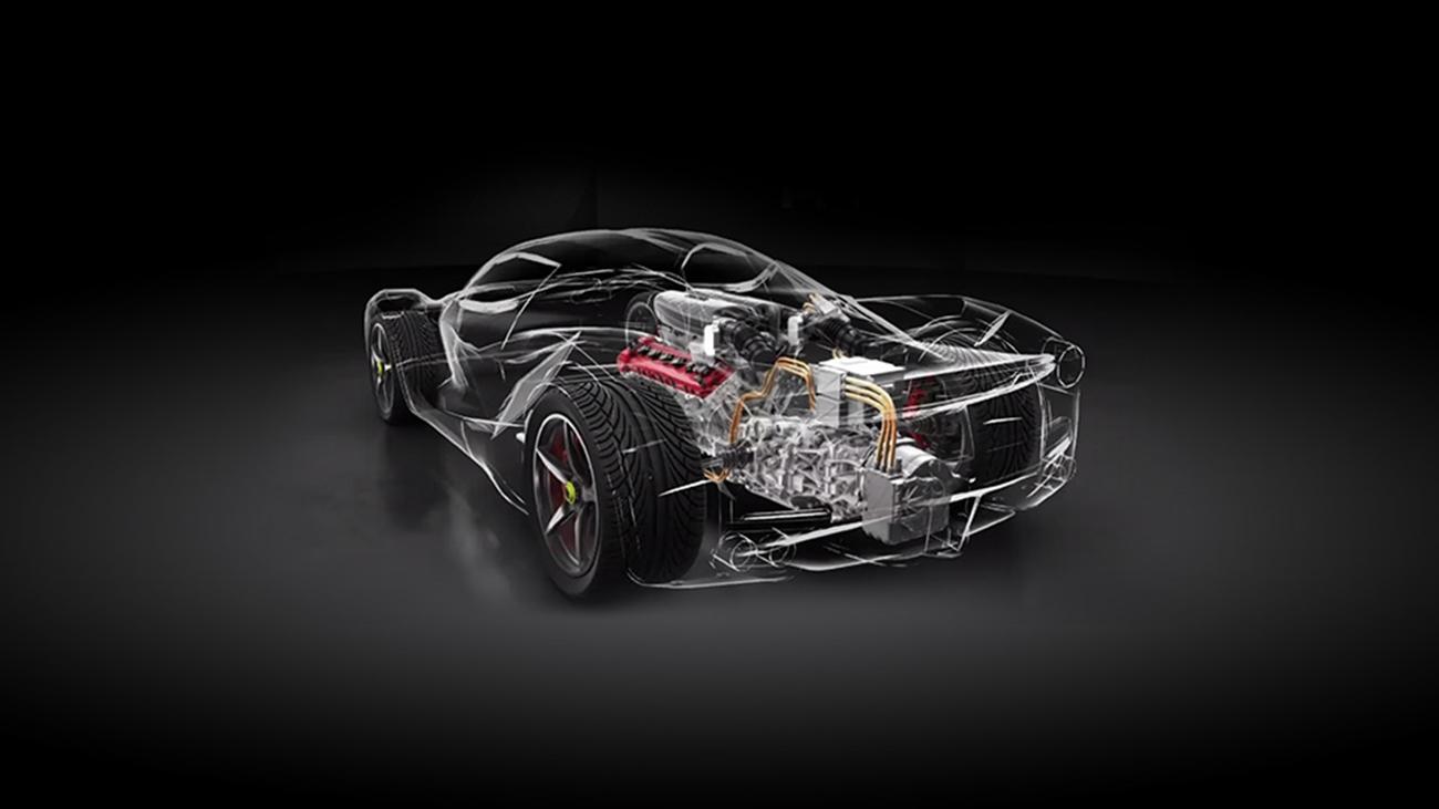 Ferrari Motor V8 Híbrido (3)