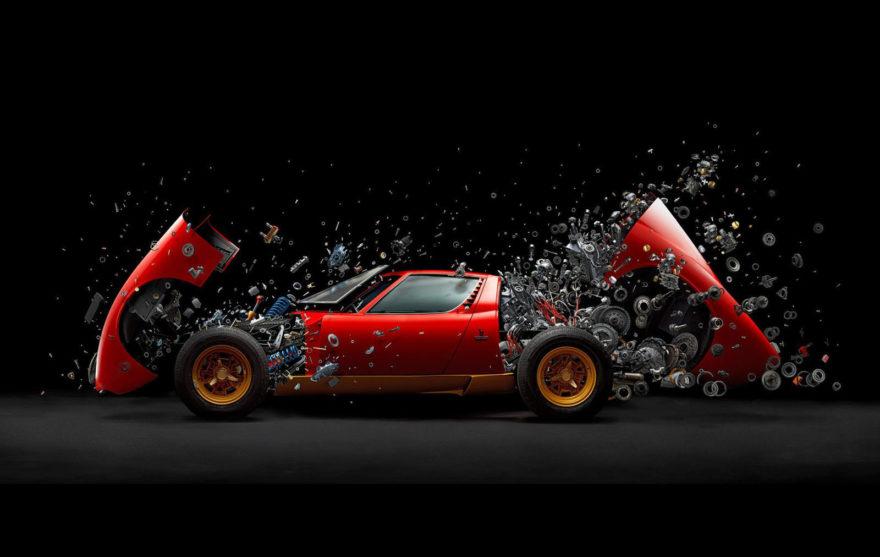 Lamborghini Miura Desintegracion Video 01