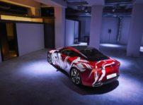 Lexus Lc 500h Art Car Concurso 02