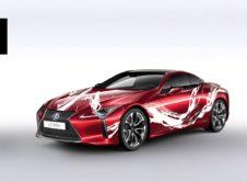 Lexus Lc 500h Art Car Concurso 07