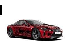 Lexus Lc 500h Art Car Concurso 08