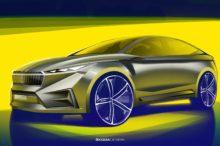 Primeras imágenes del Skoda Vision iV Concept, el eléctrico checo que promete emocionar en el Salón de Ginebra