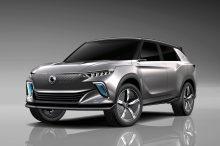 SsangYong E100: el futuro SUV eléctrico de SsangYong