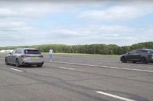 El Tesla Model X P100D quiere reivindicar el poderío de los motores eléctricos compitiendo contra el Audi RS4 pero, ¿lo conseguirá?