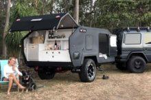 Si te gusta acampar en el campo, te encantará el remolque de acampada Bruder Exp-4