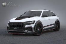 Lumma Design se atreve con el Audi Q8 y lo deja casi irreconocible