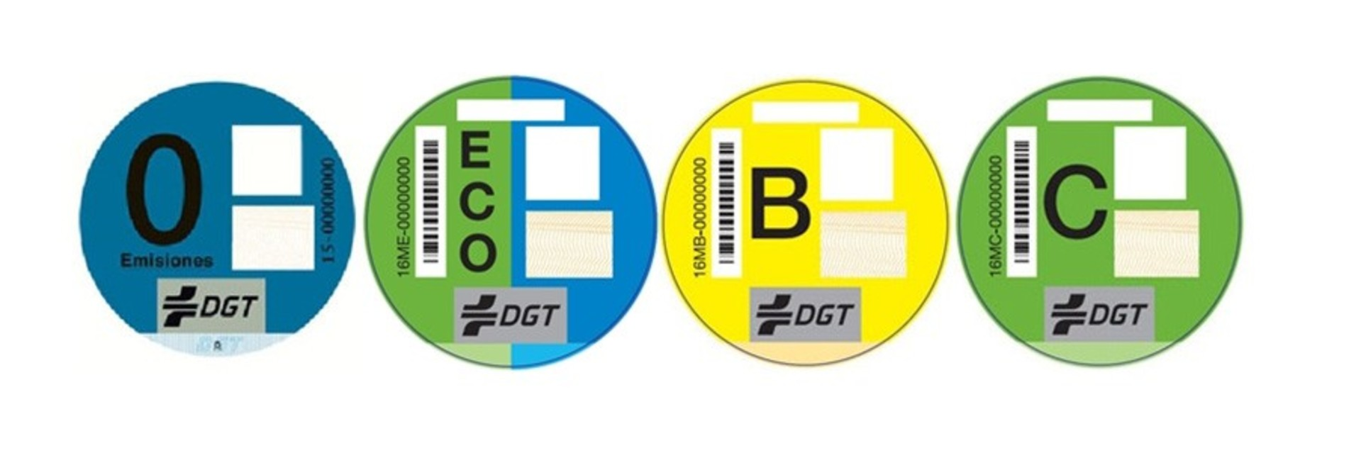 Etiquetado Emisiones Dgt 2016
