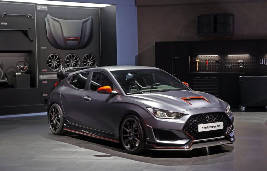 Hyundai Veloster N Performance Car Concept 2