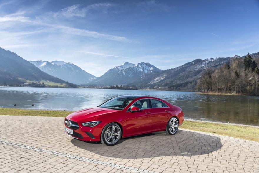 Der Neue Mercedes Benz Cla Coupé, München 2019 The New Mercedes Benz Cla Coupe, Munich 2019