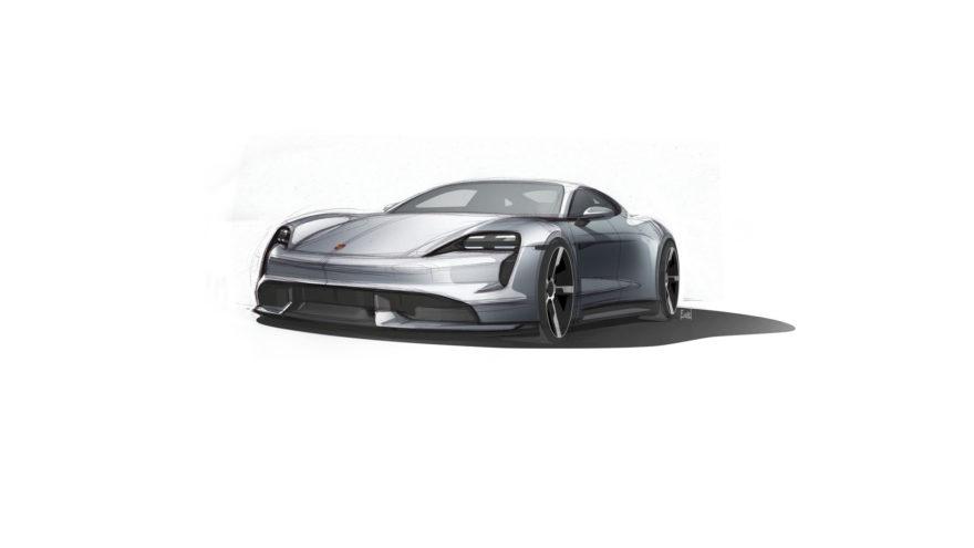 Porsche Taycan Boceto 01
