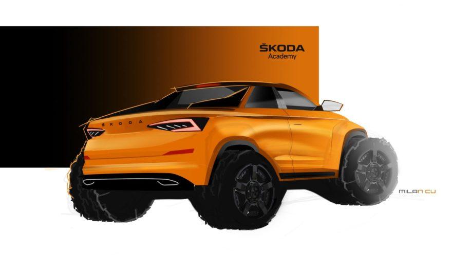 Skoda Kodiaq Pickup Concept Estudiantes 01