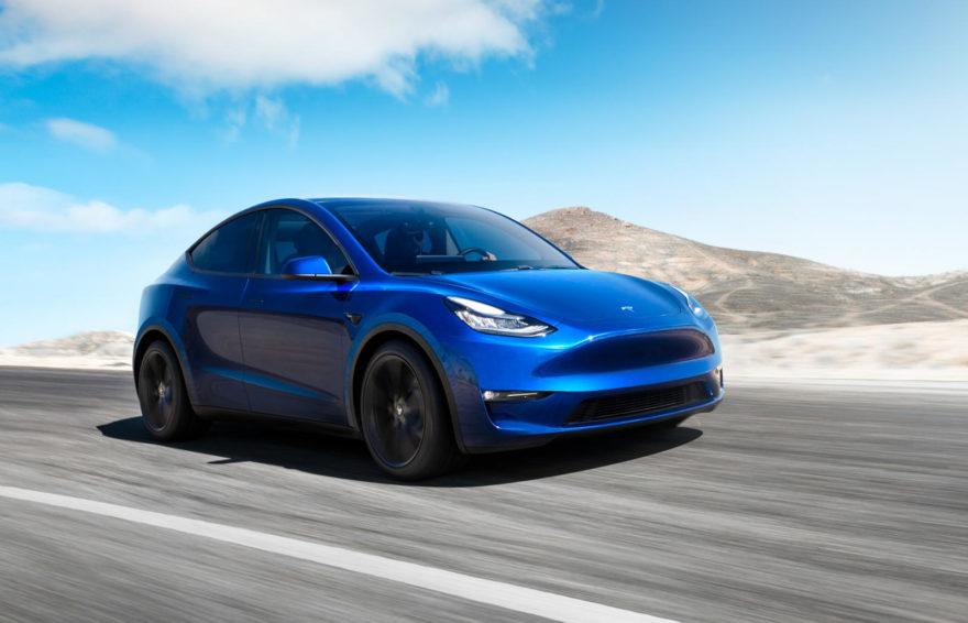 Tesla Model Y Nuevo Modelo Electrico 01