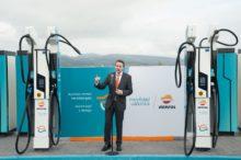 Repsol pone en marcha el primer punto de recarga ultra-rápida para vehículos eléctricos en el País Vasco