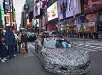Camouflaged Next Gen Corvette Nyc