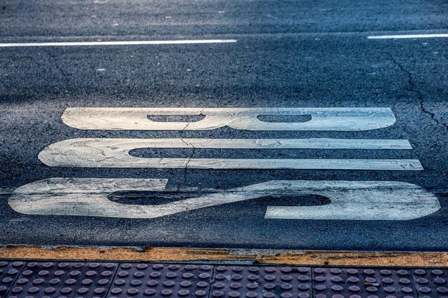 Circular Carril Bus Ciudad