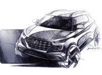 Hyundai Venue Nuevo Modelo Bocetos 01