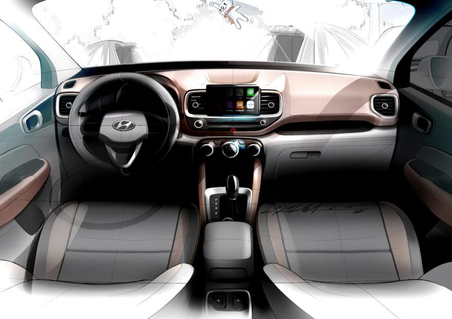 Hyundai Venue Nuevo Modelo Bocetos 02