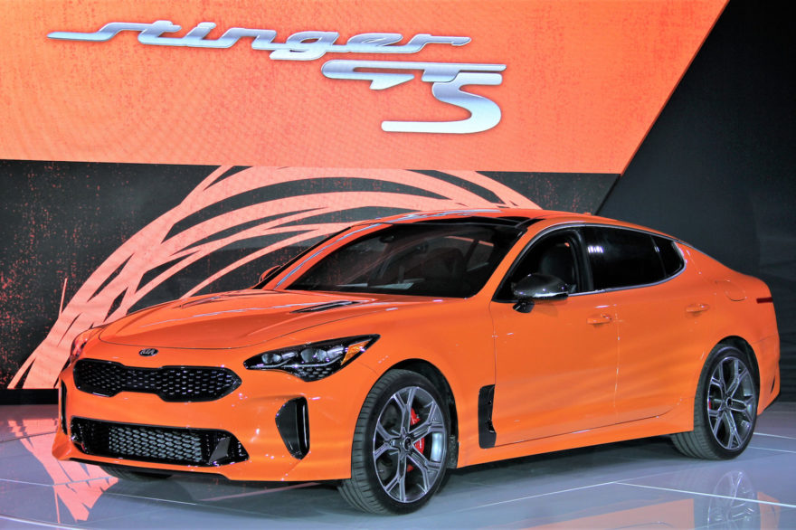 Kia Stinger Gts Drift Mode 03