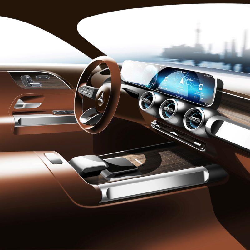 Mercedes Glb Concept Car Interior Shanghai 01