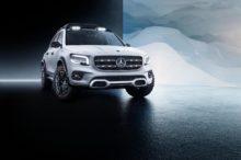 Mercedes GLB Concept: así se adelanta el futuro SUV de la firma con un nuevo lenguaje de diseño