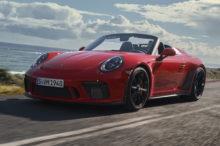 El Porsche 911 Speedster llega a producción con 1.948 unidades y 510 CV