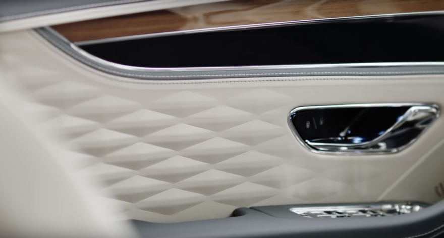 Bentley Flying Spur Teaser Interior 01