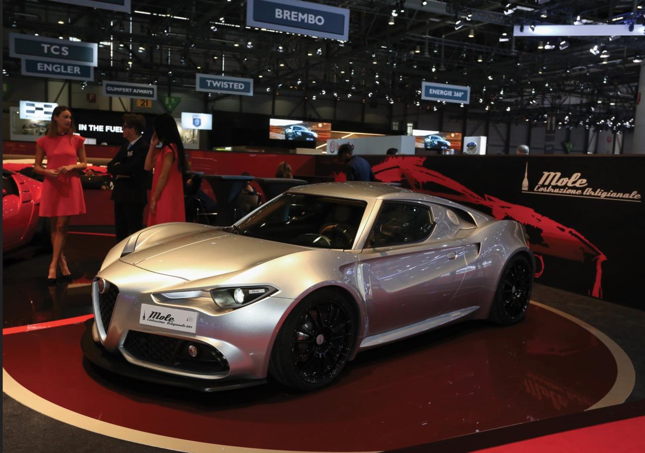 Alfa Romeo 4C Umberto Palermo
