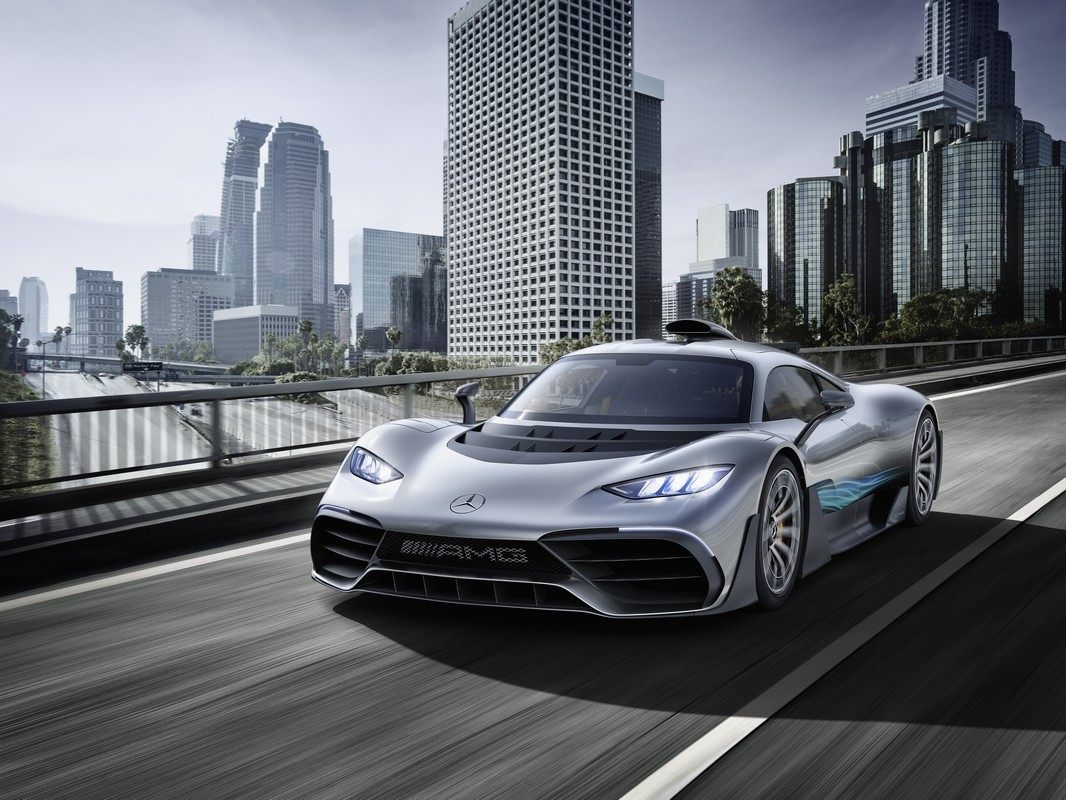 Showcar Mercedes Amg Project One, 2017