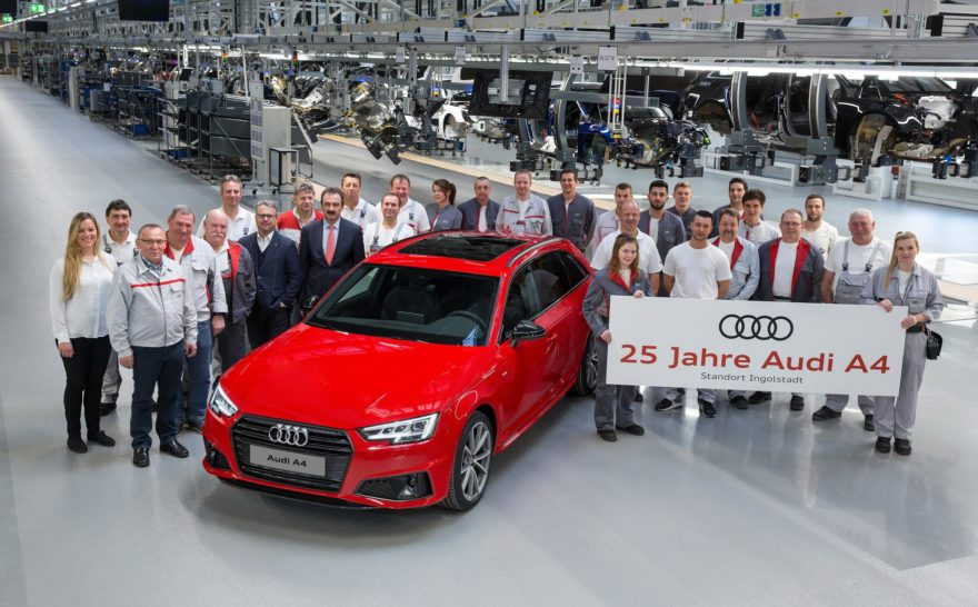 Audi A4 25 Anos Cumpleanos 01
