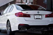 Filtradas la primera imagen y accesorios del BMW Serie 5 Carbon Edition