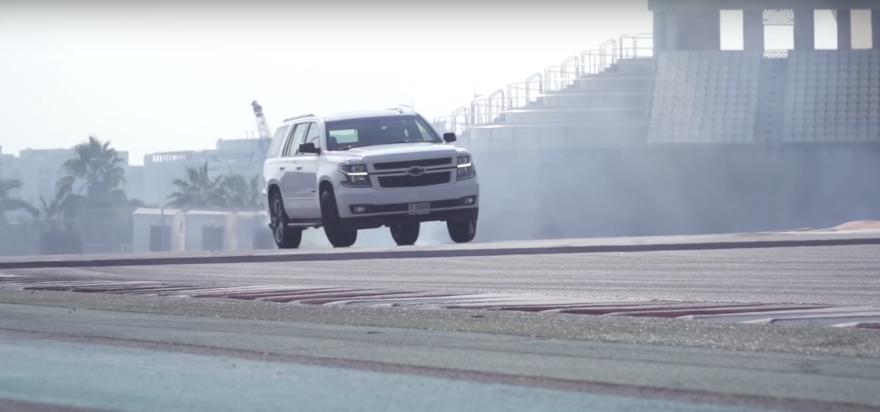 Chevrolet Tahoe Rst Drift Video 01
