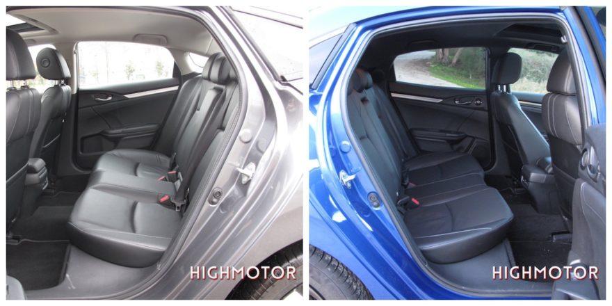 Comparativa Honda Civic Vtec Sedan Vs Civic I Dtec Cinco Puertas Collage 02