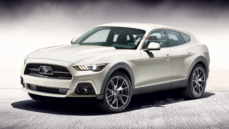 Ford Mustang Suv Electrico Render 01