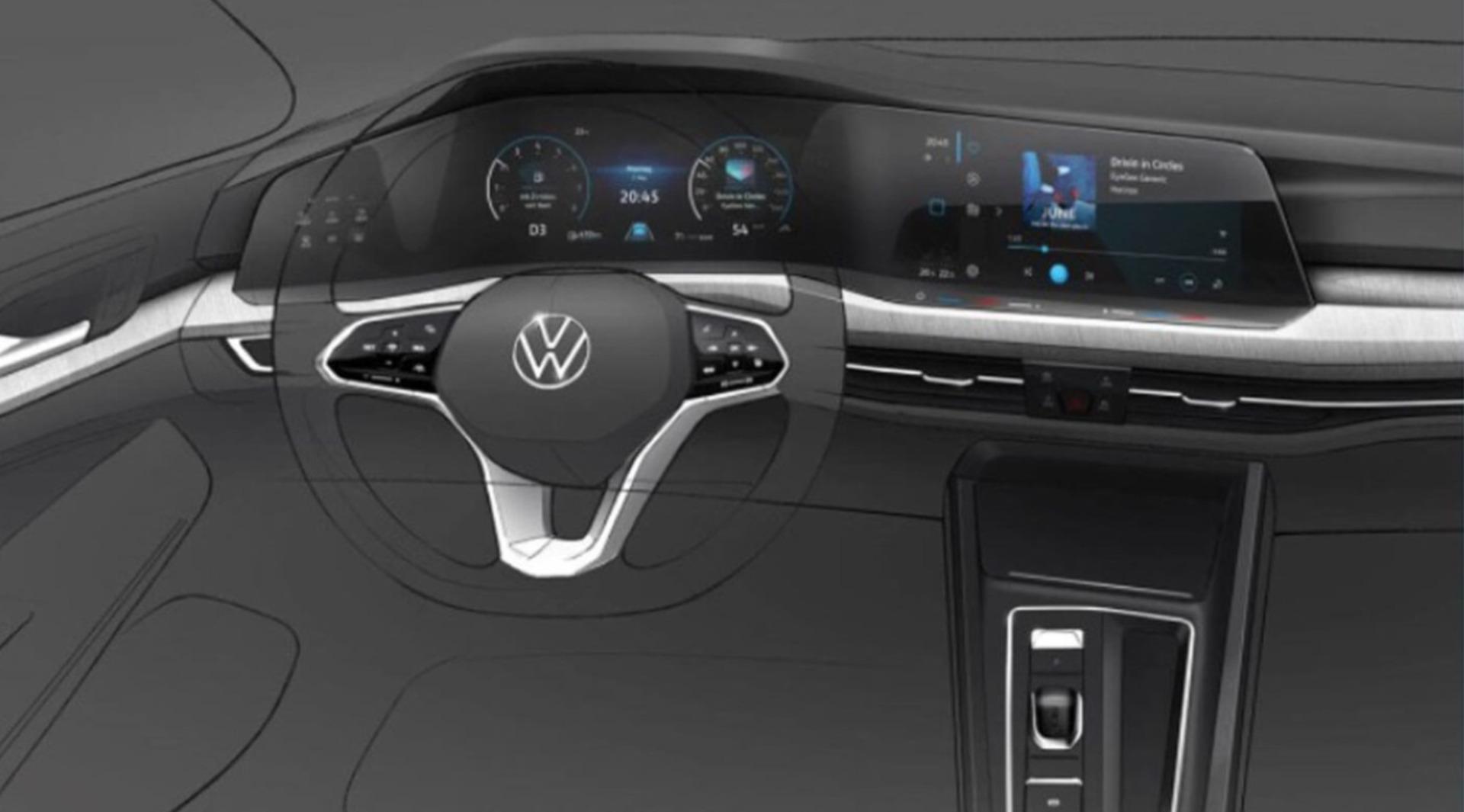 Interior Volkswagen Golf