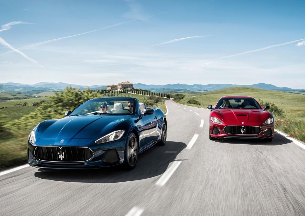Maserati motores Ferrari