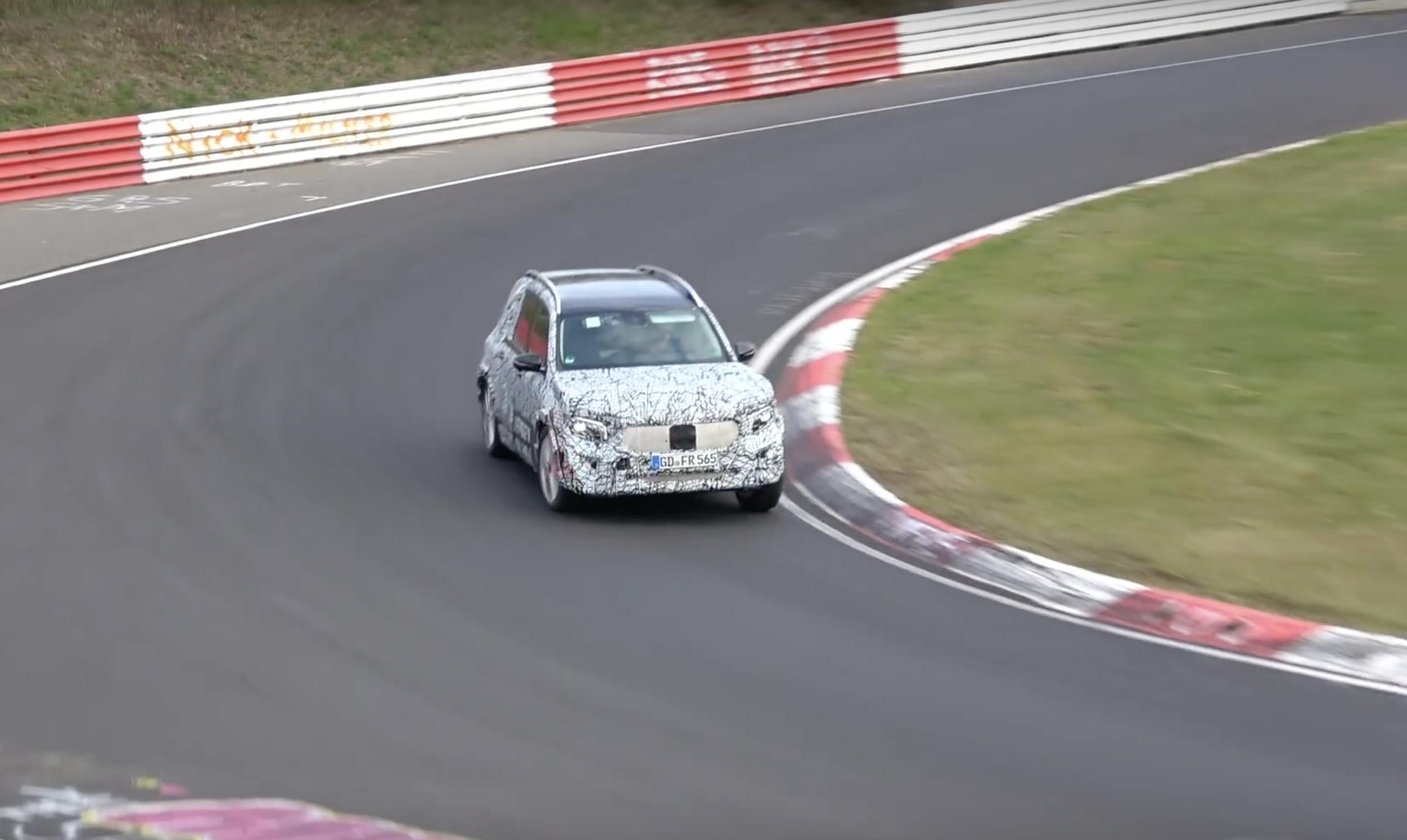 Mercedes Glb Nurburgring Camuflaje 01