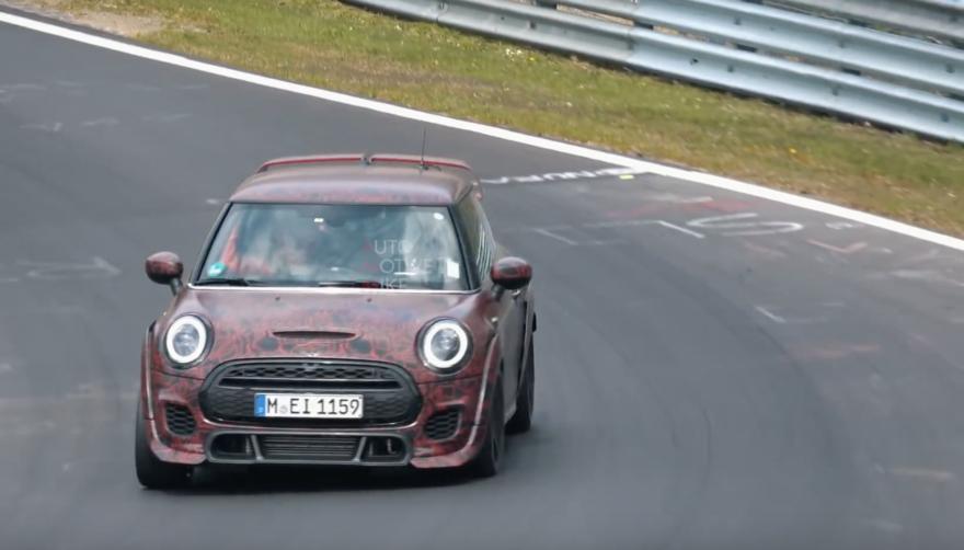 Mini John Cooper Works Gp Video Nurburgring 01