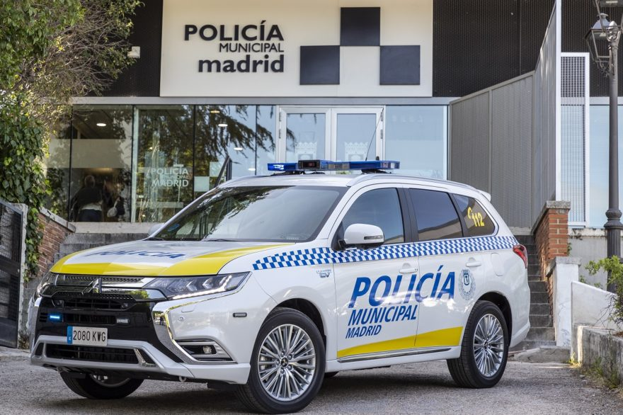 Mitsubishi Outlander Phev Policia Madrid 01