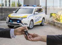 Mitsubishi Outlander Phev Policia Madrid 02