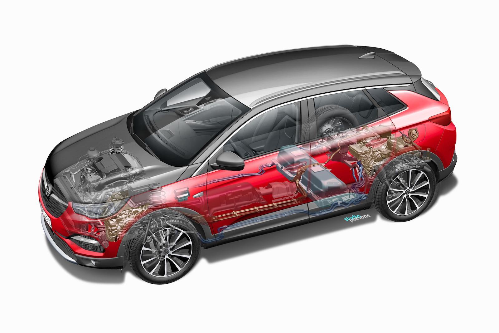 Opel Grandland X Hybrid4 Hibrido Enchufable 13