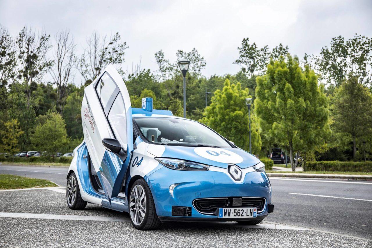 Renault Zoe Cab Taxi Autonomo Paris (4)