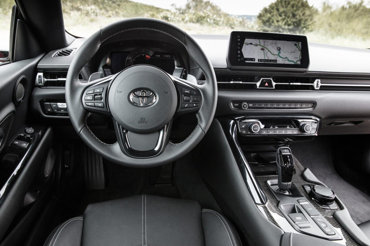 Toyota Gr Supra Prueba 1