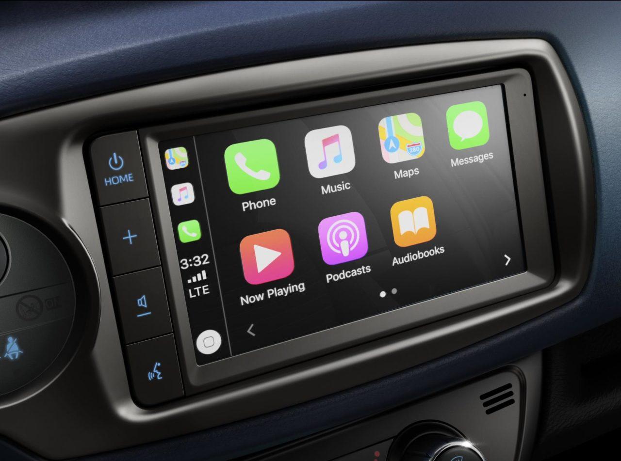 Toyota Yaris Apple Carplay Android Auto 01