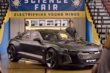 Spiderman conducirá un Audi e-tron GT en su próxima película