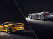 High 718 Cayman Gt4 718 Spyder L R 2019 Porsche Ag