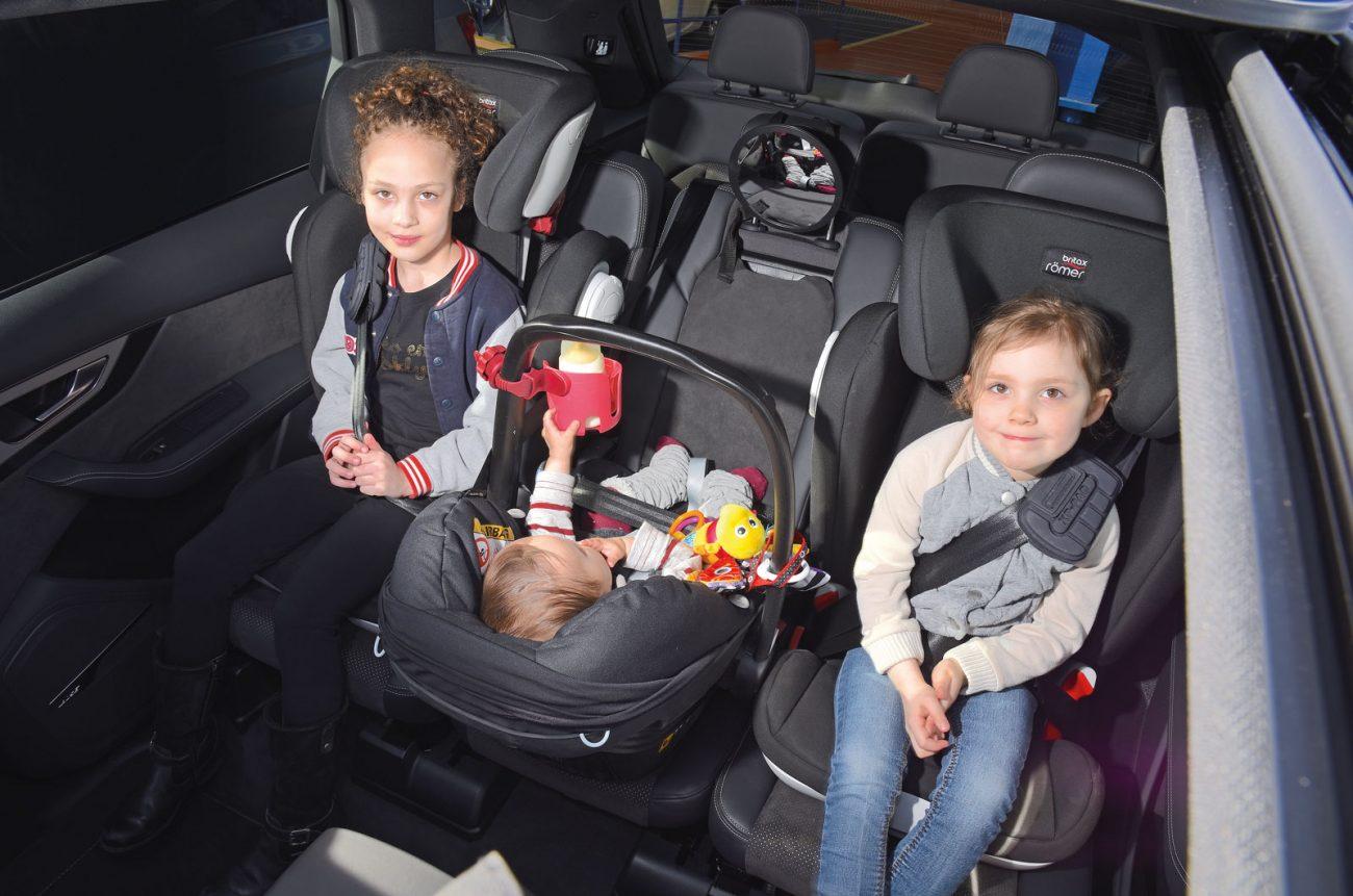 coches para tres sillas