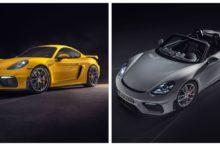 Porsche 718 Cayman GT4 y 718 Spyder: manteniendo la deportividad natural y pura