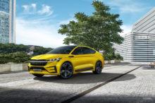 El Skoda Eniaq iV se deja ver disfrazado de Volkswagen Tiguan en Nürburgring