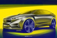 El Skoda Vision iV podría llegar en 2021 con 306 CV y 500 km de autonomía